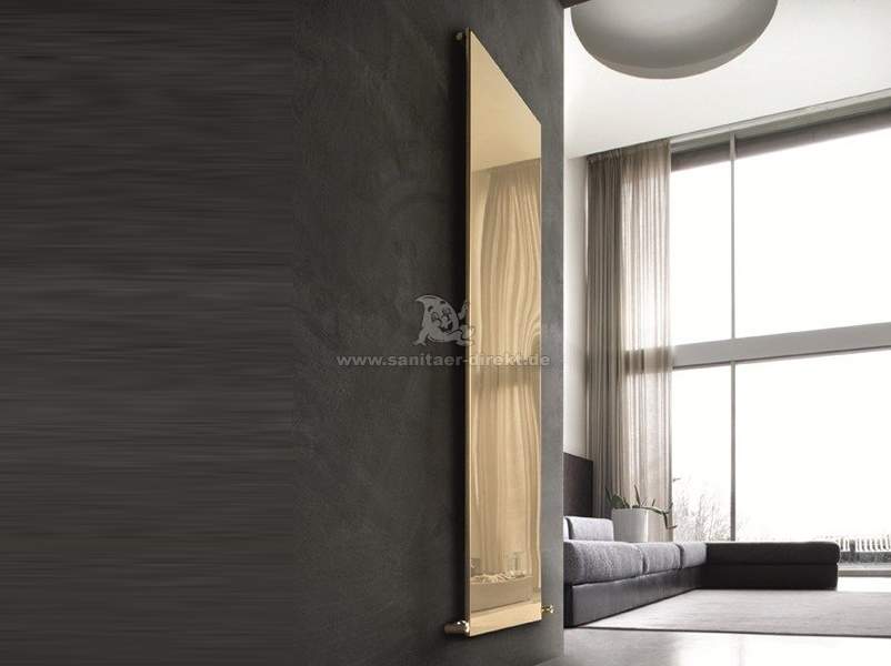 Caleido - Ice Gold Finish Vertical Single